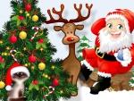 Santas Friends