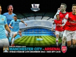 Manchester City v Arsenal Wallpaper