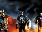 Thor Captain America Ironman