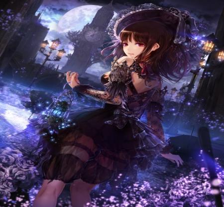 Beautiful Dark Girl Other Anime Background Wallpapers On Desktop
