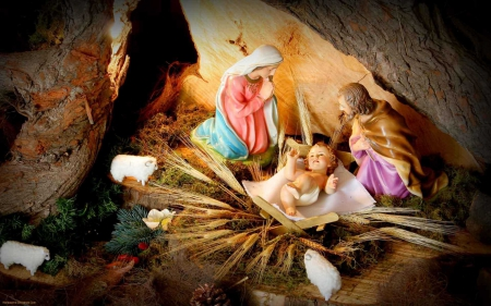 Nativity of our Lord ♥ - Christmas, Nativity, holidays, bless