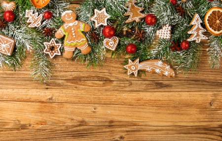 Christmas Cookies Wallpaper.Christmas Cookies Photography Abstract Background