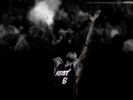 Lebron James Powder Toss