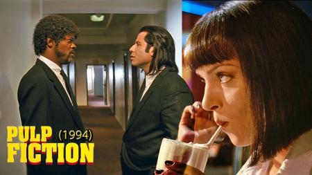 Pulp Fiction 1994 Movies Entertainment Background Wallpapers On Desktop Nexus Image 1637764