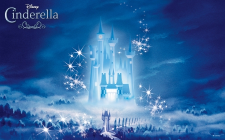 cinderella castle movies entertainment background wallpapers on