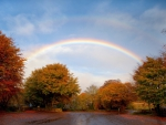 *** Autumn rainbow ***
