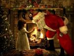 ~Santa Claus & Little Girl~