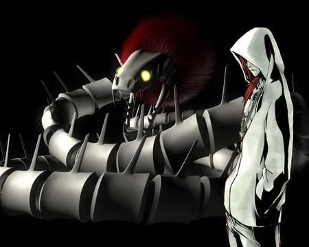 bankai 3D - anime, abarai renji, bleach