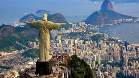 Christ The Redeemer Religious Architecture Background Wallpapers