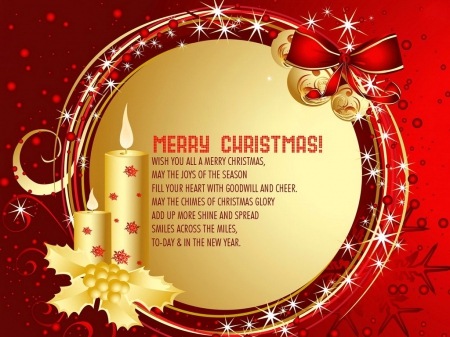 merry christmas to special friends