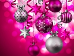 Pretty In Pink Ornaments