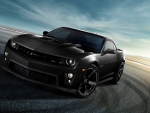Hot Black Camaro