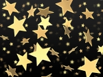 Rain of Golden Stars