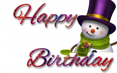 Image result for happy birthday winter images