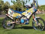 Husaberg FE570 Dakar Bike