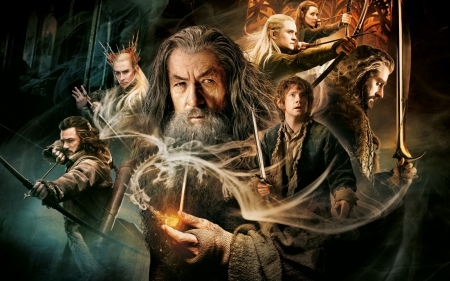 The Hobbit: the desolation of Smaug - hobbit, 19, 2013, movie, 12, picture