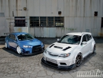 2008 Mitsubishi Lancer Evolution X & 2008 Subaru Impreza WRX STi
