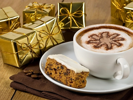 Coffee Christmas Morning.Christmas Coffee Morning Photography Abstract Background