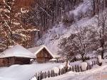 Iarna - Valea Jiului