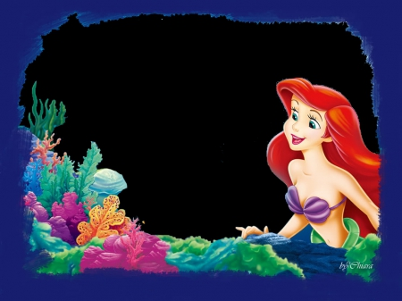 Little Mermaid Frame Movies Entertainment Background Wallpapers