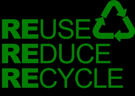 3 R's png pic - save, green, pollution, nature, earth