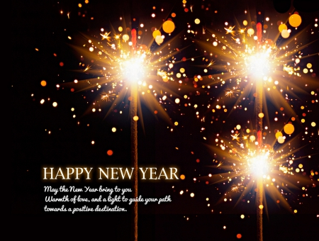 Happy New Year - holidays, happy new year, wishes, background