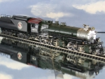 Great Northern 2-6-8-0 Class M-2 paint over brass