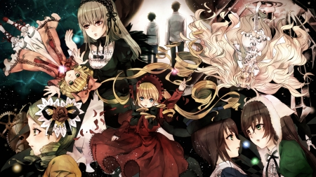 Rozen Maiden Other Anime Background Wallpapers On