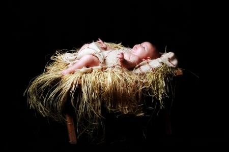 Happy Birthday Baby Jesus Photography Abstract