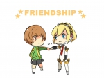 chie & aigis *friendship*