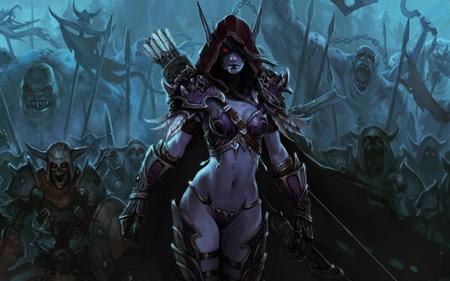 Dark Army Elf World Of Warcraft Video Games Background Wallpapers On Desktop Nexus Image 1646274