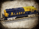 Bachmann GP-40 Locomotive Alaska Railroad toy