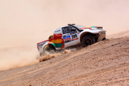 Dakar Rally 2013 - thrill, 4x4, offroad, rally