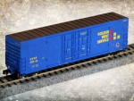 Wheels of Time N scale 50 foot box-car toy