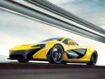McLaren P1 top speed 217 mph