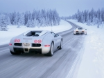 Veyron In The Snow