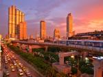 skyscrapers in Bangkok Thailand