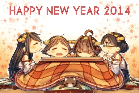 happy new year 2014 pretty dress cg blush game glasses