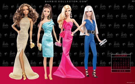 January 2014 - 2014, Barbie, January, Collector