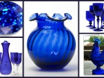 Vases and things in blue