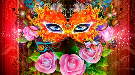 carnival flowers nature background wallpapers on desktop nexus