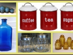 Collection of canisters _e