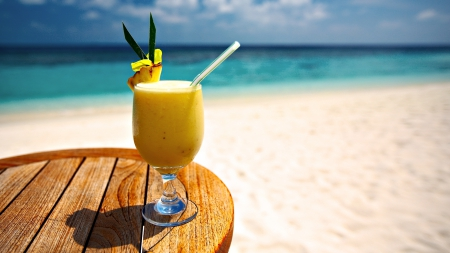 Cocktail - rest, beach, pineapple, cocktail, drinks, drink, cocktails