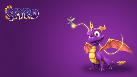 Spyro - games, purple, dragon, spyro