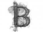 Smoke Letter B