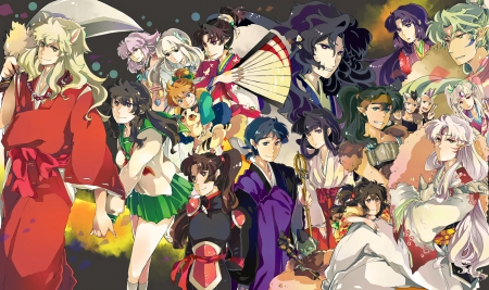 The Gangs All Here - act, inuyasha, final, gang