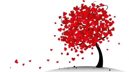 Valentine Tree Other Abstract Background Wallpapers On
