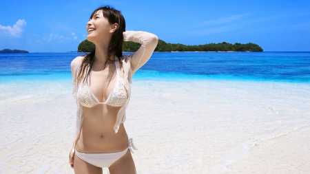 Hottest asian bikini remarkable