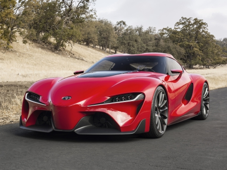 Toyota FT 1 - Toyota FT 1, ft1concept, toyota, ft1