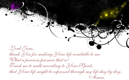 Promise - widescreen, lord, jesus, bible, prayer, grunge, scripture, art, 2560x1600